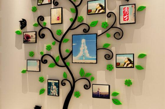 New-arrival-3d-Happy-family-tree-photo